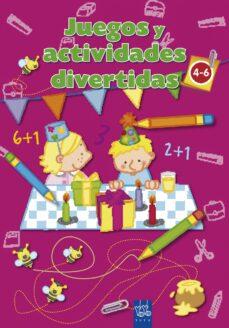 juegos y actividades divertidas: rosa (de 4 a 6 años)-9788408084242