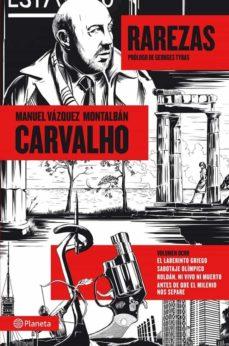 carvalho vol. 8: rarezas-manuel vazquez montalban-9788408112242