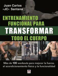Descarga gratuita de audiolibros. ENTRENAMIENTO FUNCIONAL PARA TRANSFORMAR TODO EL CUERPO