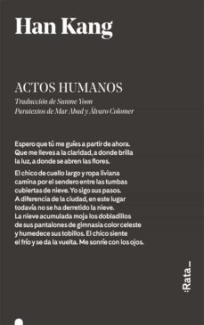 Descargar google libros de audio ACTOS HUMANOS de HAN KANG CHM iBook in Spanish 9788416738342