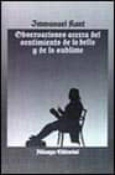 Valentifaineros20015.es Observaciones Acerca Del Sentimiento De Lo Bello Y Lo Sublime Image