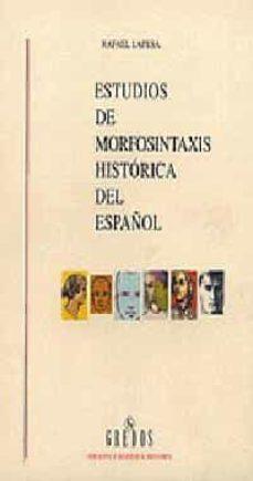 Inmaswan.es Estudios De Morfosintaxis Historica Del Español (O. C.) Image