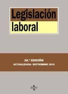 Relaismarechiaro.it Legislacion Laboral (26ª Edicion) Image