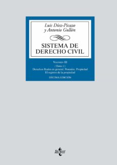 Descargar SISTEMA DE DERECHO CIVIL: VOLUMEN III  DERECHOS REALES EN GENERAL gratis pdf - leer online