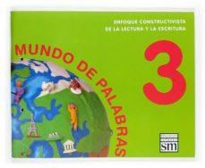 Relaismarechiaro.it Lectoescritura Mundo De Palabras (Nivel 3) (5 Años. Educacion Inf Antil) Image