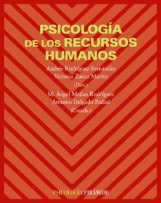 psicologia de los recursos humanos-andres rodriguez fernandez-9788436822342