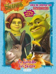 Eldeportedealbacete.es Shrek 4: La Pandilla De Shrek: Libro De Colorear Con Pegatinas Image