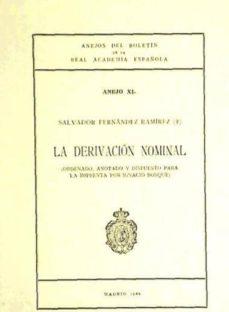 Permacultivo.es La Derivacion Nominal (Ref: 1454706) Anales Del Boletin De La Rae Image
