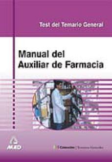 Inmaswan.es Manual De Auxiliar De Farmacia: Test Del Temario General Image