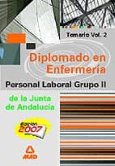 Followusmedia.es Diplomado Enfermeria. Personal Laboral. J.a. Vol. Ii Image