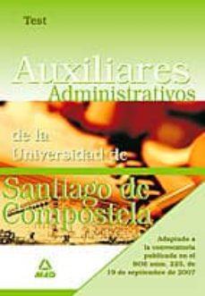 Javiercoterillo.es Auxiliares Administrativos De La Universidad De Santiago De Compostela. Test Image
