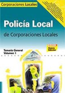 Srazceskychbohemu.cz Policia Local.temario General Volumen I Image