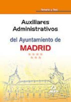 Debatecd.mx Auxiliares Administrativos Del Ayuntamiento De Madrid. Temario Y Test Image