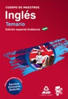 Alienazioneparentale.it Cuerpo De Maestros. Ingles. Temario. Edicion Especial Andalucia Image