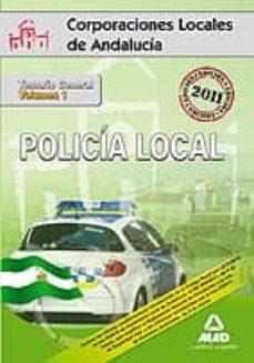 Cronouno.es Policia Local De Andalucia: Temario General (Vol. I) Image
