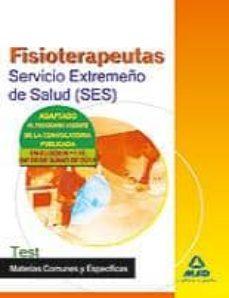 Colorroad.es Fisioterapeutas Del Servicio Extremeño De Salud (Ses). Test De Ma Terias Image