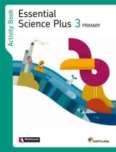 essential science plus 3 activity book-9788468013442