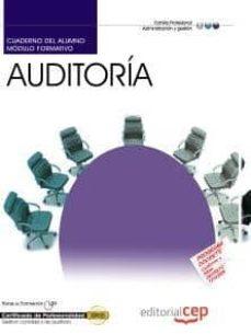 Emprende2020.es Cuaderno Del Alumno Auditoria (Certificados De Profesionalidad) Image