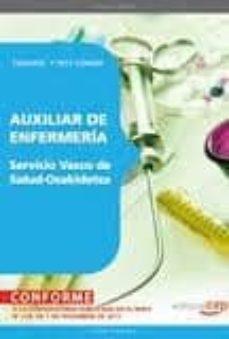 Titantitan.mx Auxiliar De Enfermeria Del Servicio Vasco De Salud-osakidetza: Te Mario Y Test Comun Image