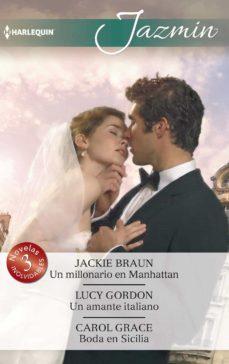 Debatecd.mx Un Millonario En Manhattan; Un Amante Italiano; Boda En Sicilia Image
