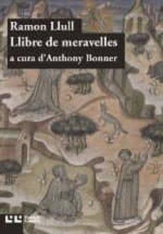 llibre de meravelles-ramon llull-9788472268142