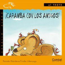 Ojpa.es ¡Caramba Con Los Amigos! (Letra Manuscrita) Image