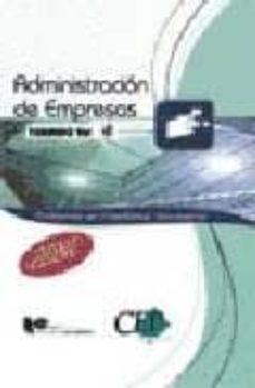 Permacultivo.es Temario Oposiciones. Vol. Iv Cuerpo De Profesores De Enseñanza Se Cundaria. Administracion De Empresas (Ade) Image
