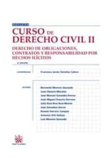 Titantitan.mx Curso De Derecho Civil Ii. Derecho De Obligaciones, Contratos Y R Esponsabilidad Por Hechos Ilicitos (6ª Ed) Image