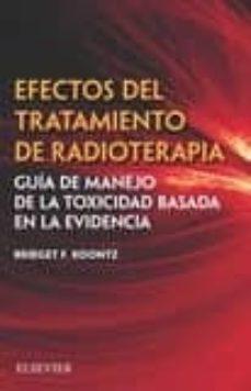 Libros en línea gratis descargar pdf gratis EFECTOS DEL TRATAMIENTO DE RADIOTERAPIA