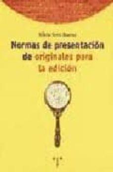 Inmaswan.es Normas De Presentacion De Originales Para La Edicion Image