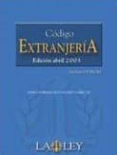 Asdmolveno.it Codigo De Extranjeria (Ed. 2003) (Incluye Cd-rom) Image