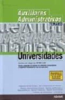 Carreracentenariometro.es Auxiliares De Universidades: Temario Generico Image