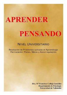 Costosdelaimpunidad.mx Aprender Pensando (Ed. Facsimil) Image