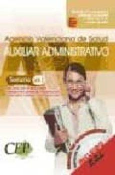 Padella.mx Oposiciones Auxiliar Administrativo Agencia Valenciana De Salud. Temario (Vol. I) Image