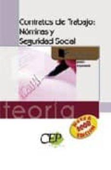 Chapultepecuno.mx Contratos De Trabajo: Nominas Y Seguridad Social. Teoria. Formaci On Image
