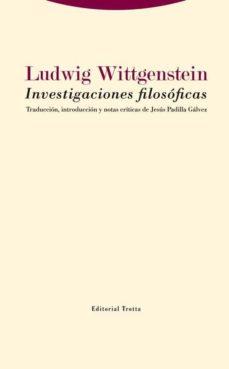 investigaciones filosóficas-ludwig wittgenstein-9788498796742