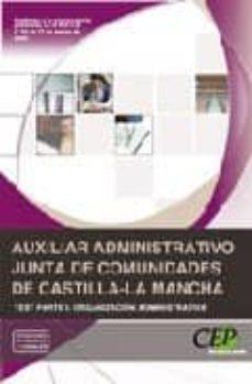 Ojpa.es Auxiliar Administrativo Junta De Comunidades De Castilla-la Manch A Test: Parte I Organizacion Administrativa. Image