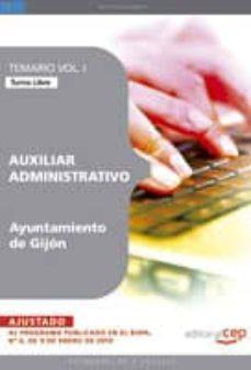 Titantitan.mx Auxiliar Administrativo Del Ayuntamiento De Gijon. Temario Turno Libre Vol. I. Image