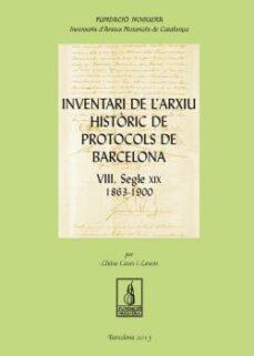 Mrnice.mx Inventari De L Arxiu Històric De Protocols De Barcelona Viii Image
