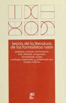 Ironbikepuglia.it Teoria De La Literatura De Los Formalistas Rusos: Jakobson, Titia Nov, Eichenbaum, Brik, Schklovsky, Vinogradov, Tomashevsky, Propp Image