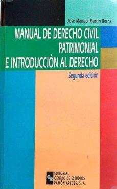 Inmaswan.es Manual De Derecho Civil Patrimonial E Introducción Al Derecho Image