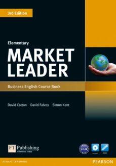 Descargar gratis ebooks epub google MARKET LEADER ELEMENTARY COURSEBOOK DVD-ROM 9781408237052