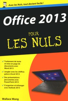 office 2013 pour les nuls (ebook)-wallace wang-9782754067652