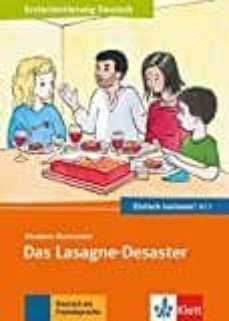 Descargar ebook de google books en pdf DAS LASAGNE-DESASTER LECTURA A1.1 in Spanish