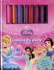 Geekmag.es Disney Princesas: Colorea Tu Puzle (Incluye 5 Puzzles) Image