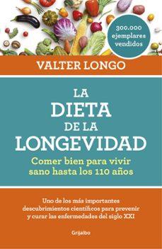 la dieta de la longevidad-valter longo-9788416449552