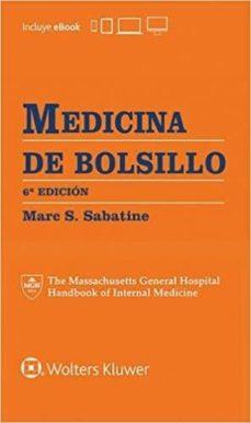 Descargas de libros de audio gratis mp3 MEDICINA DE BOLSILLO (6ª ED.) iBook FB2 de MARC S. SABATINE (Spanish Edition) 9788416781652