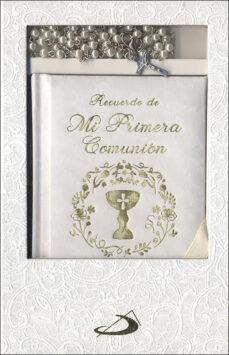 estuche primera comunión oraciones y rosario- modelo 2-9788428554152