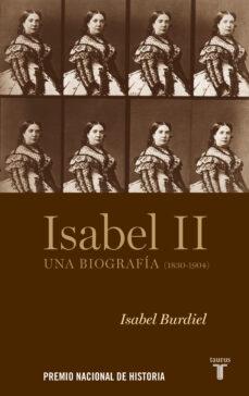 isabel ii o el laberinto del poder-isabel burdiel-9788430607952