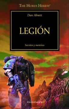 Descargar libros electrónicos en pdf gratis para móviles LA HEREJIA DE HORUS 7: LEGION